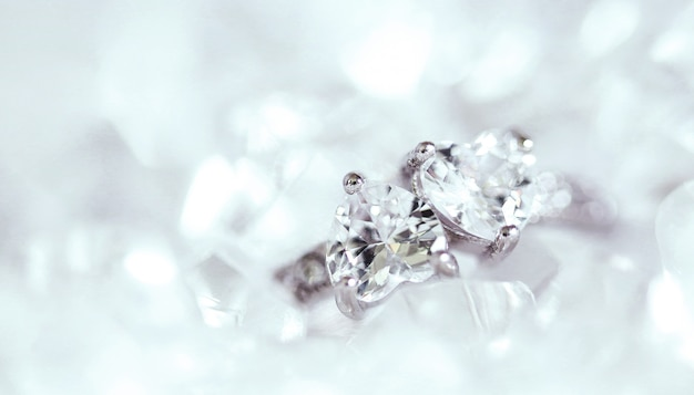 Diamond ring Free Photo