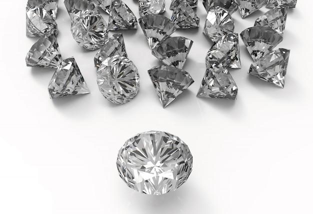 Diamonds Premium Photo