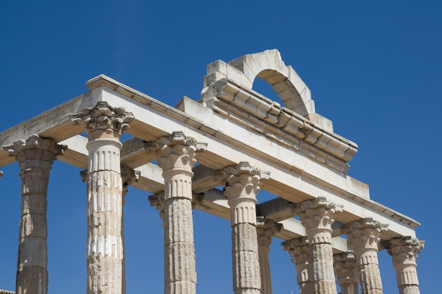 Dianes temple, merida, spain Premium Photo
