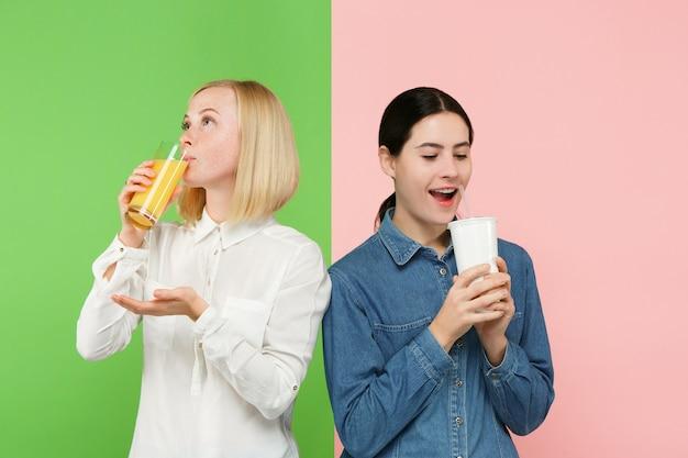 Рацион питания. концепция диеты. здоровая пища. Бесплатные Фотографии