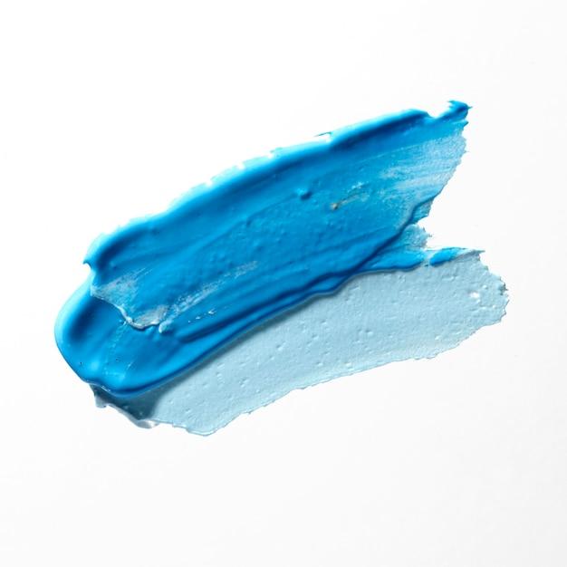 Разные синие оттенки концепции кисти Бесплатные Фотографии
