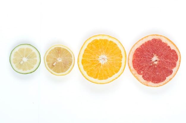 Different citrus Free Photo