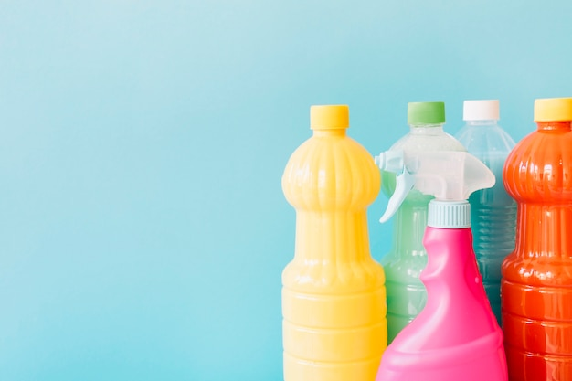 Different cleaning products Free Photo