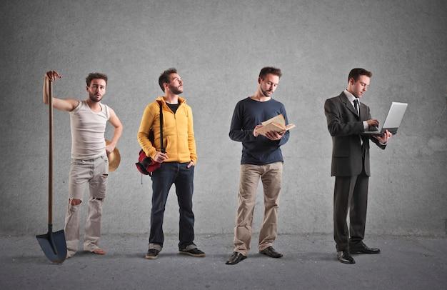 Different kind of professions Premium Photo