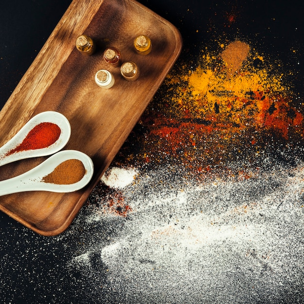 Different oriental spices Free Photo