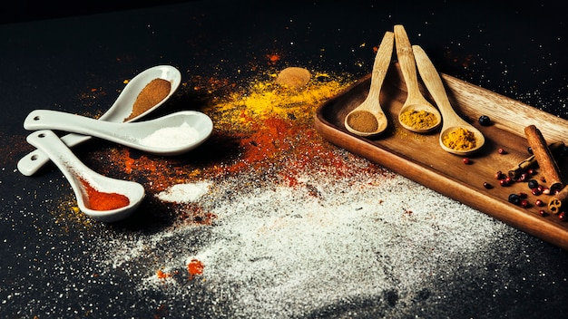 Different spices Free Photo
