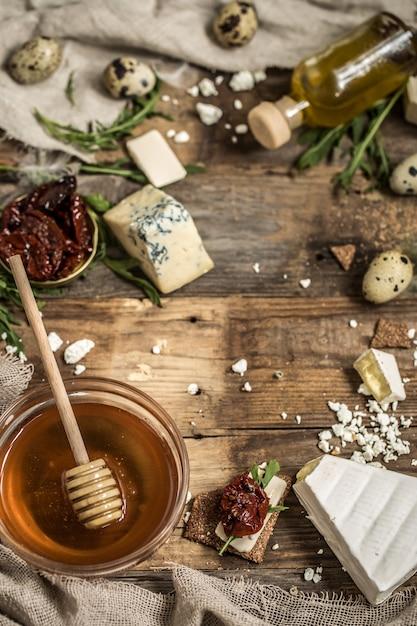 Различные виды сыров Бесплатные Фотографии