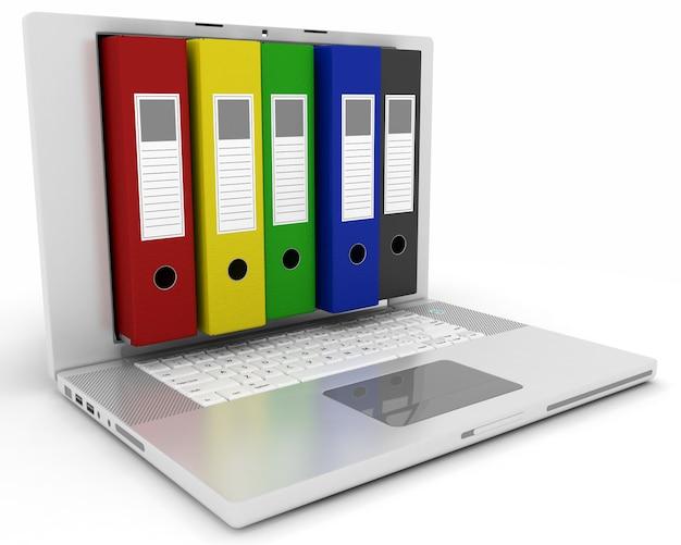 Digital filing and storage Free Photo