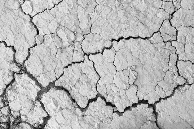 Текстура трещин грязной сухой почвы и натуральный пол Бесплатные Фотографии