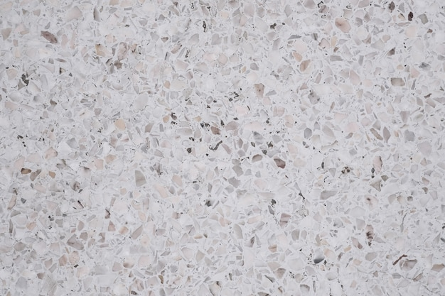 Dirty and dust on terrazzo polished stone floor and wall Premium Photo