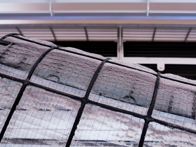 Dirty filter of air conditioner Premium Photo
