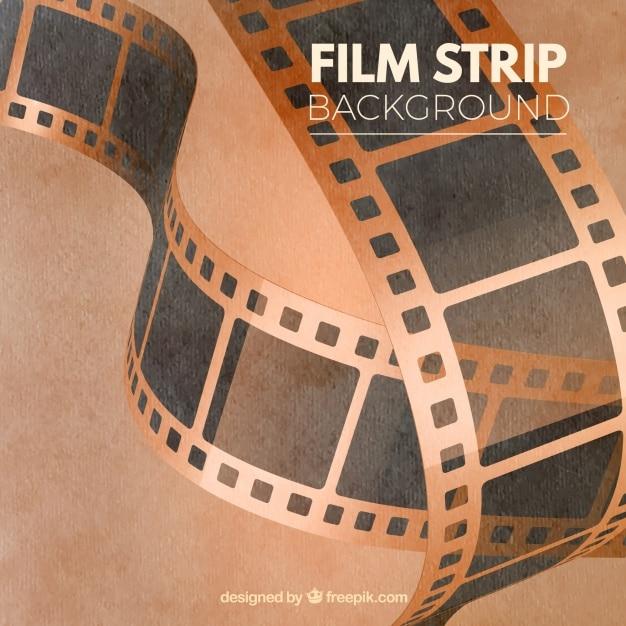 Vintage Film Roll Dirty Vintage Film Strips