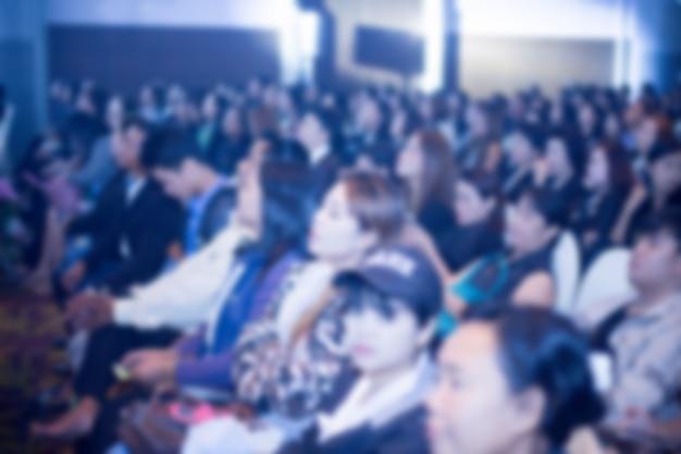 Disfocus фона конференц-зала бизнес Premium Фотографии