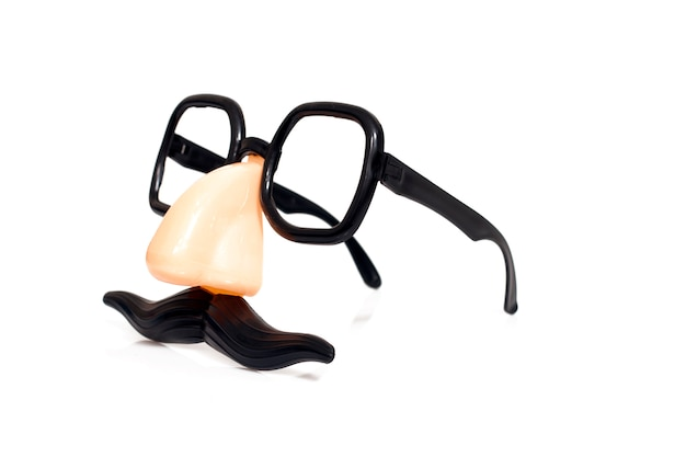 Disguise masquerade glasses Premium Photo