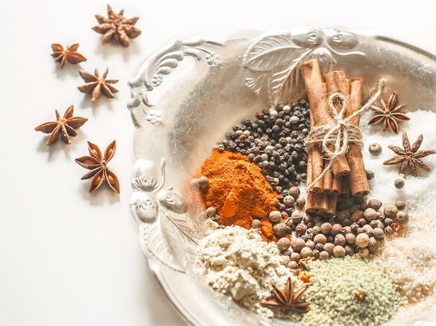 Dish with spices Free Photo