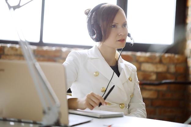 Dispatcher al lavoro Foto Gratuite