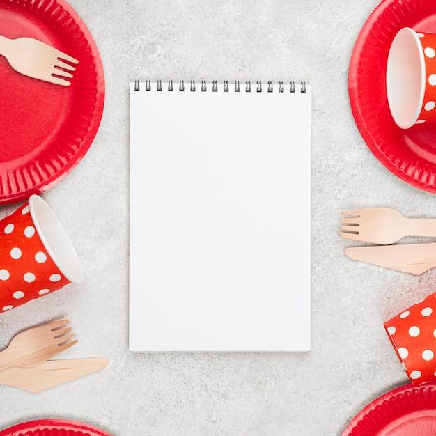 Блокнот для одноразовой посуды Бесплатные Фотографии
