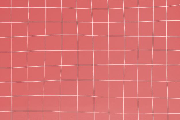 왜곡 된 인도 붉은 수영장 타일 패턴 무료 사진