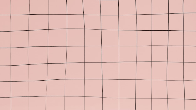 Distorting grid on dull pink wallpaper Free Photo