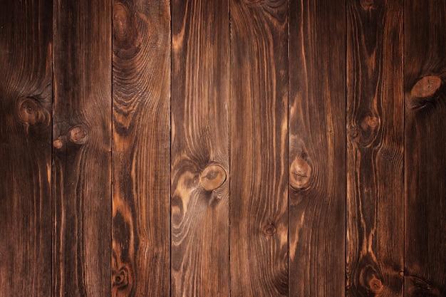 ページの背景として使用するための苦しめられた再生木材の床板 Premium写真
