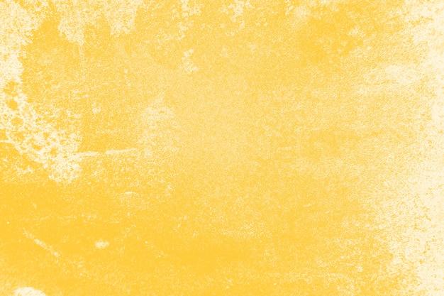 고민 된 노란색 벽 질감 배경 무료 사진
