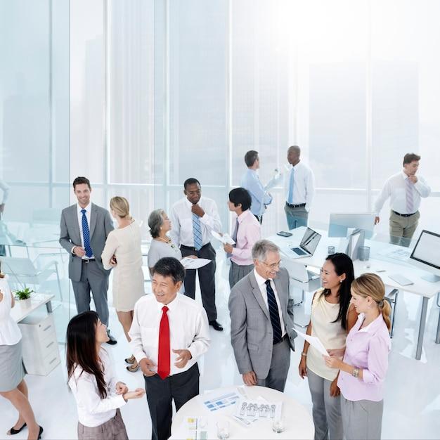 Diverse business office shoot Premium Photo