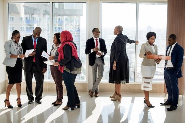 Diversity people international conference partnership Premium Photo