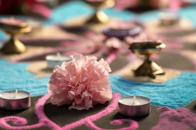 빛의 전통의 디 왈리 축제 무료 사진