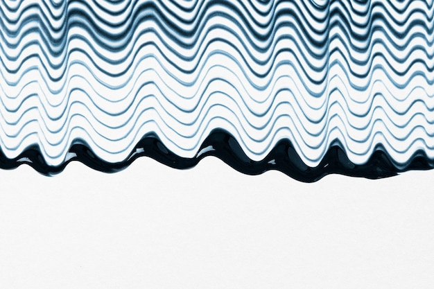 Free Photo Diy Waved Textured Border Background In Blue And White Experimental Abstract Art