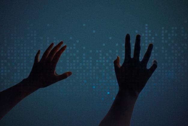 Dj регулирует громкость на интерактивном экране Бесплатные Фотографии