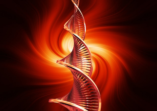 Dna abstract Free Photo