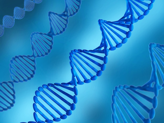 Dna molecule Premium Photo