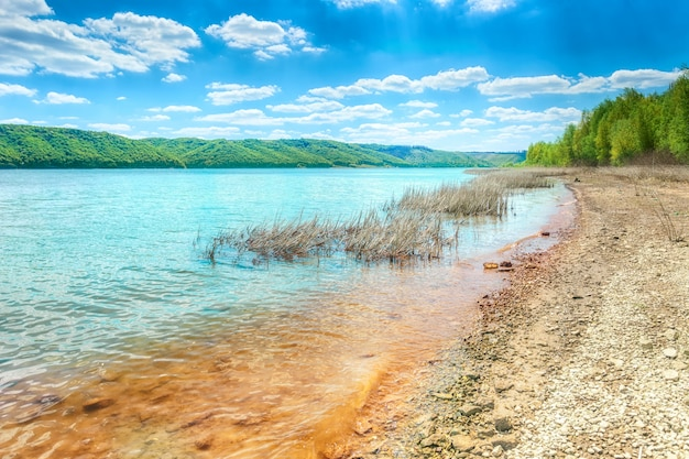 バコタのドニエストル川 Premium写真
