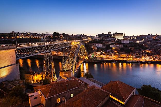 The dom luis bridge Premium Photo