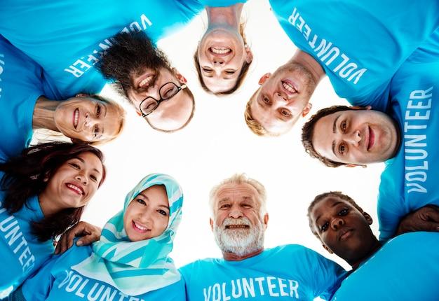 Donation community service volunteer support Premium Photo