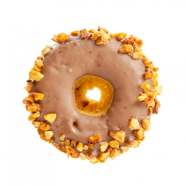 Donut isolated Premium Photo