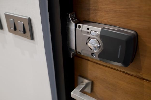 Door handle Premium Photo