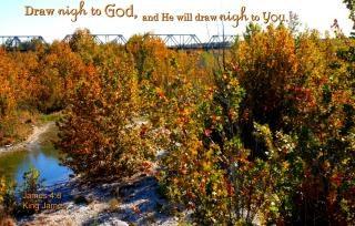 Draw Near to God Free Photo