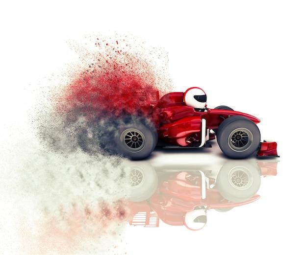 Drawing race car Free Photo