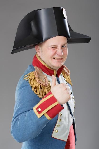 ナポレオンにdressした俳優。 Premium写真