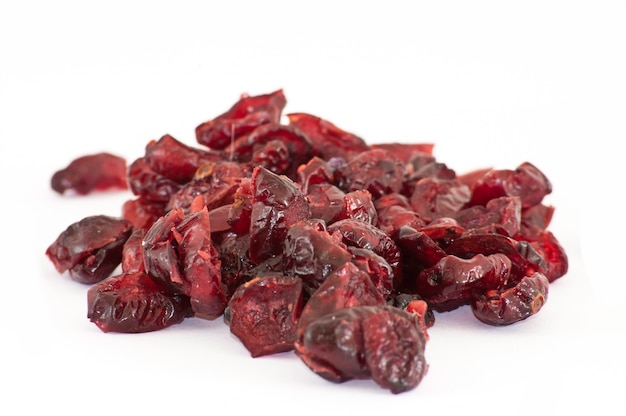 Dried cranberries close up Free Photo