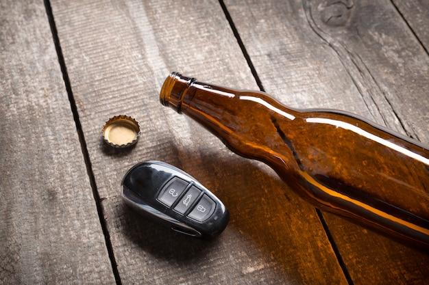 Drinking and driving Premium Photo