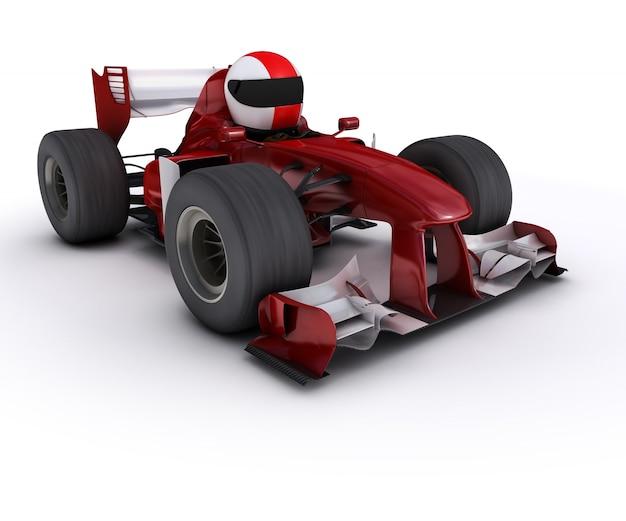 Driving a formula one car Free Photo