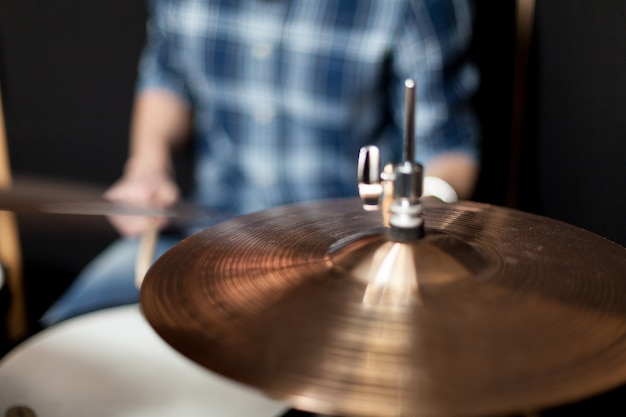 Drummer close up Free Photo