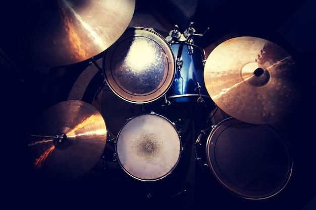 Drums conceptual image. Free Photo