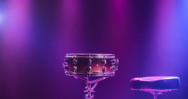 Drums and drum set Free Photo