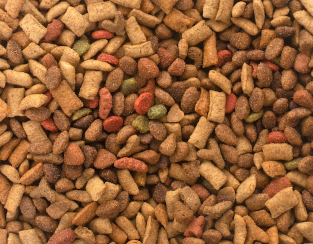 Dry pet food Premium Photo