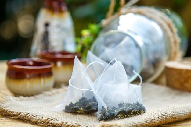 Dry tea leaves Free Photo