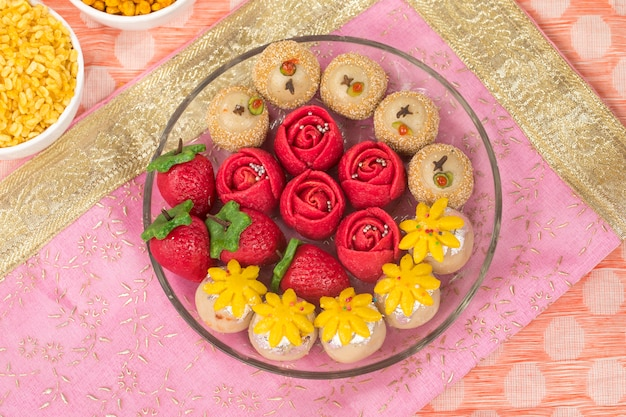 Dryfruits sweet food Premium Photo