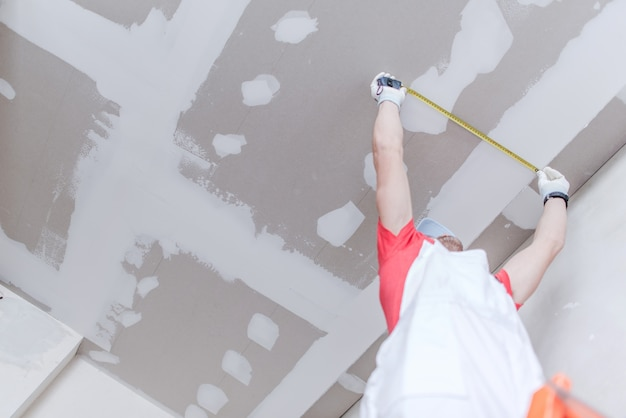 Drywall measurement Free Photo